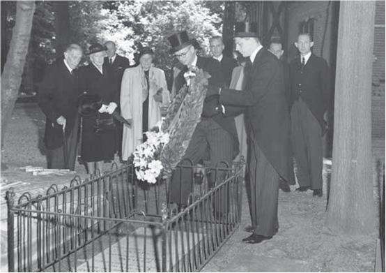 vijftigste sterfdag van ir. Pieter Caland